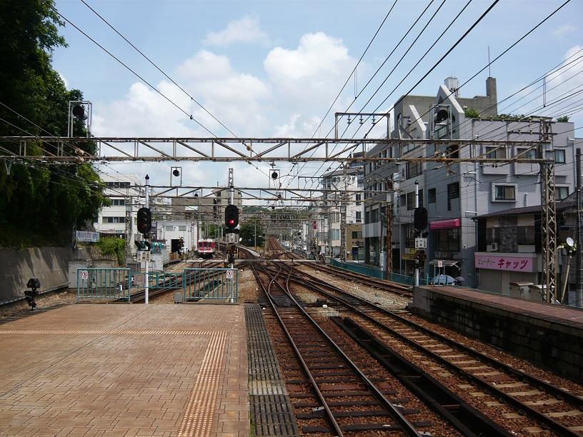 粟生と三田の分岐路