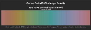 色彩テスト結果
