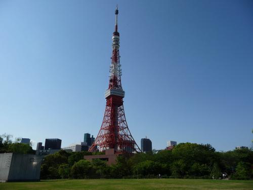 東京タワーfromプリンス庭