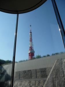 東京タワーfromプリンスラウンジ