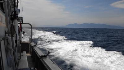 経ヶ岬を望む