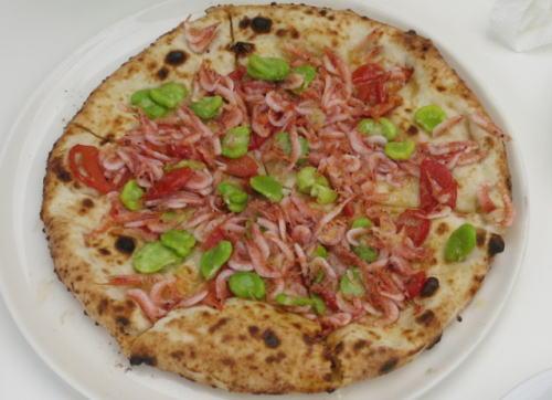 さくらえびのピザ
