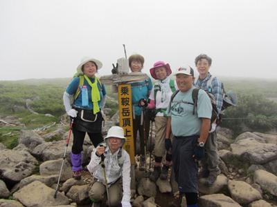 白馬乗鞍岳2436m