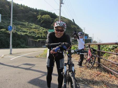 32km走って上越市の終点に到着 今年2度目のバイクラン
