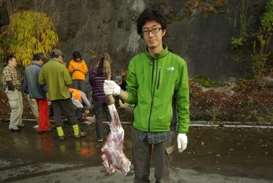 シカの足の肉