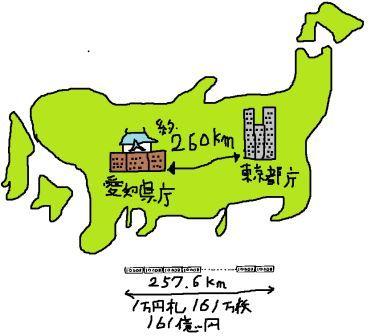 東京から愛知色塗り圧縮