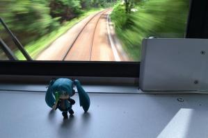 長良川鉄道の車内にて