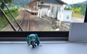 駅に近付いています