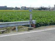 江上バス停(佐賀駅方面)