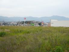 新入駅ホームから見てみます