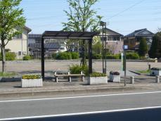 まどかぴあバス停(JR大野城駅方面のりば)