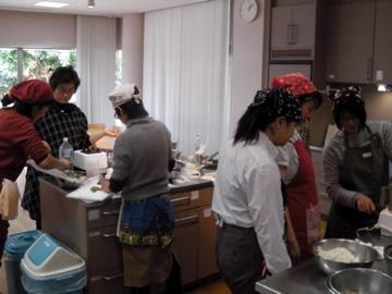 ローフード料理教室13