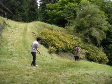 草刈りワークショップ