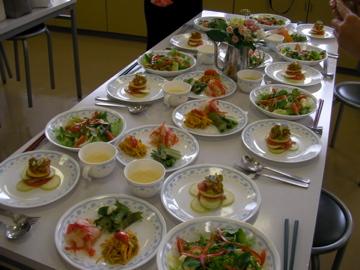 ローフード料理教室6
