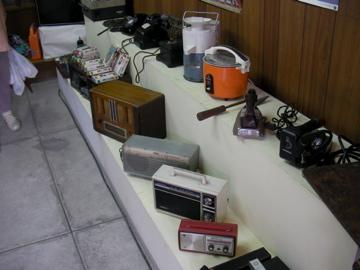 レトロな電気製品