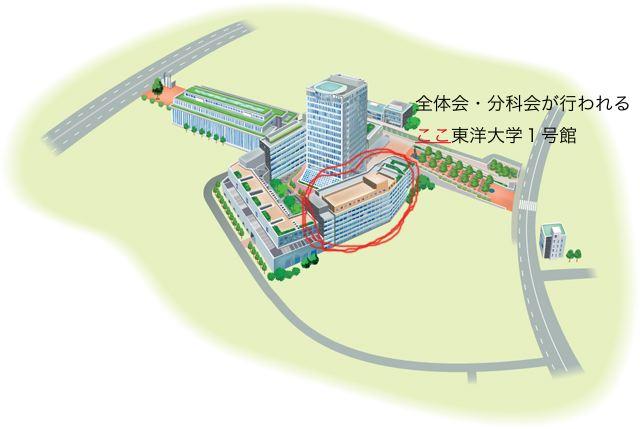 1号館キャンパスマップ