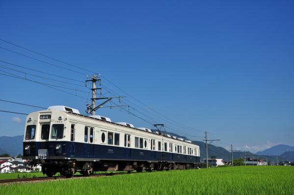 2012年8月5日 上田電鉄別所線 大学前~下之郷 7200系7253F