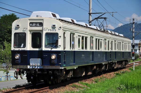 2012年8月5日 上田電鉄別所線 寺下~神畑 7200系7253F