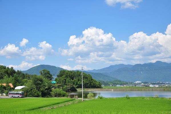 2012年8月5日 上田バス 信州の鎌倉シャトルバス 満願寺入口~金井 H-897号車