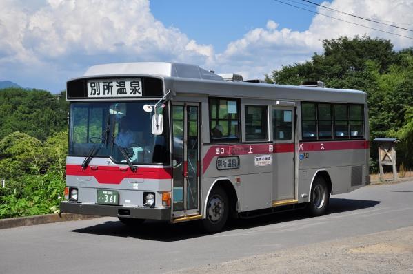 2012年8月5日 上田バス 信州の鎌倉シャトルバス 前山寺 H-897号車