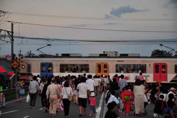 2012年8月5日 上田電鉄別所線 城下~上田 1000系1003F