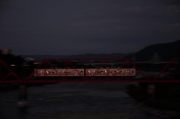 2012年8月5日 上田電鉄別所線 城下~上田 1000系1001F