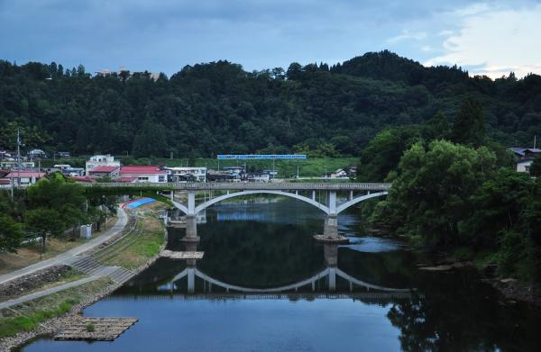2012年8月9日 JR東日本左沢線 柴橋~左沢 キハ101形キハ101-6+12+9+**