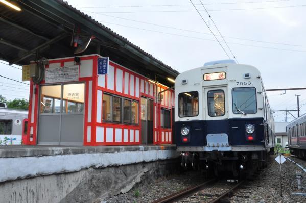 2012年8月12日 上田電鉄別所線 下之郷 7200系7253F