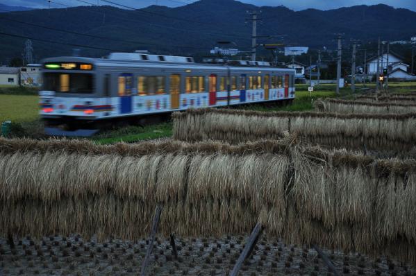 2012年9月18日 上田電鉄別所線 中塩田~下之郷 1000系1002F