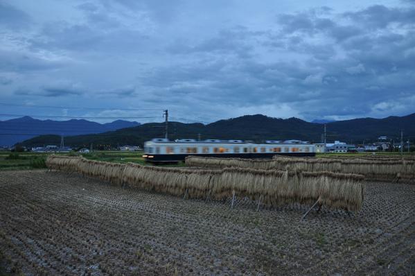 2012年9月18日 上田電鉄別所線 下之郷~中塩田 7200系7255F