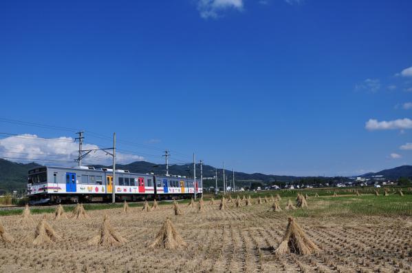 2012年10月9日 上田電鉄別所線 下之郷~中塩田 1000系1002F