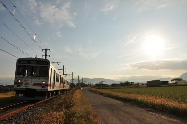 2012年10月10日 上田電鉄別所線 中野~舞田 1000系1002F
