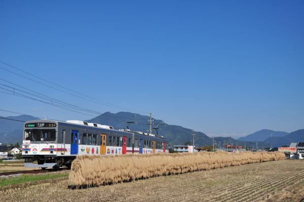 2012年10月20日 上田電鉄別所線 大学前~下之郷 1000系1002F