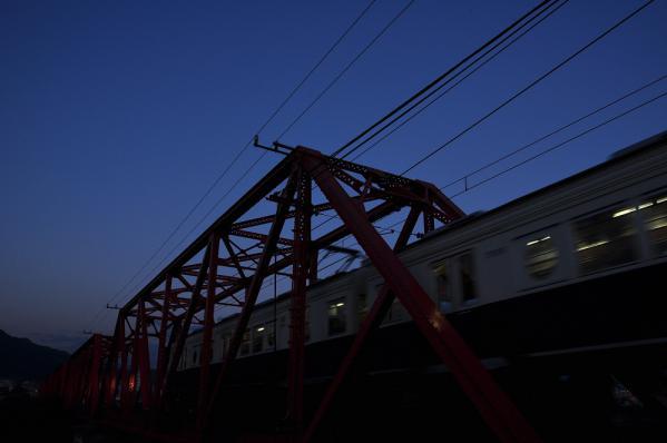 2012年10月20日 上田電鉄別所線 城下~上田 7200系7255F