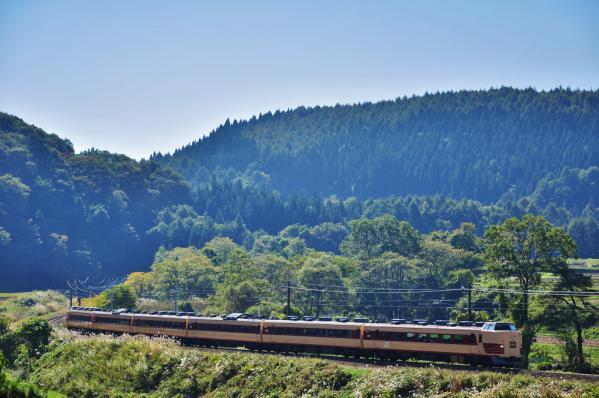 2012年10月20日 JR東日本信越本線 牟礼~古間 189系N101編成 特急あさま号