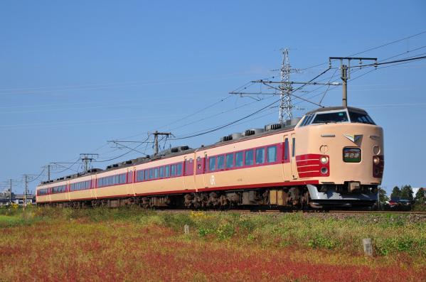 2012年10月20日 JR東日本信越本線 南高田~脇野田 189系N101編成 特急あさま号