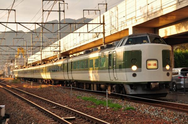 2012年10月20日 しなの鉄道線 上田~信濃国分寺 JR東日本189系N103編成 快速189系リレー号