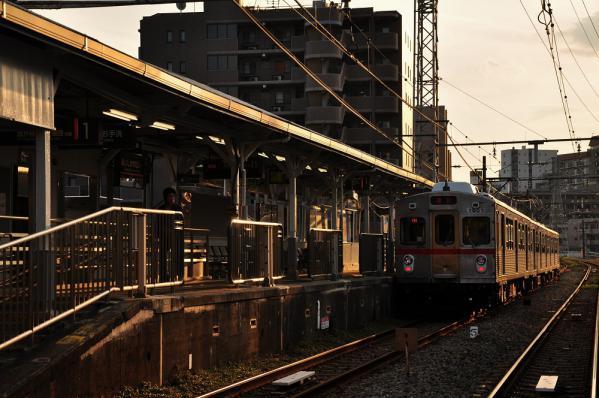 2012年10月26日 東急池上線 石川台 7700系7907F
