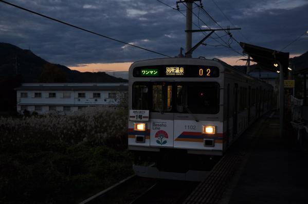 2011年11月12日 上田電鉄別所線 寺下 1000系1002F