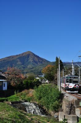2012年11月4日 上田電鉄別所線 別所温泉~八木沢 1000系1003F