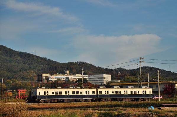 2012年11月4日 上田電鉄別所線 下之郷~大学前 7200系7255F