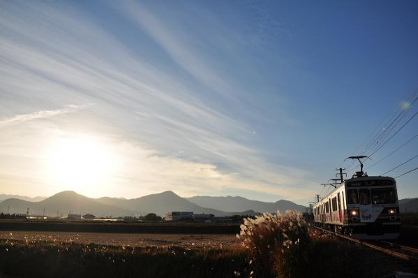 2012年11月4日 上田電鉄別所線 中塩田~下之郷 1000系1003F