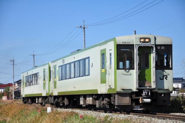 2012年11月4日 JR東日本小海線 中佐都~佐久平 キハ110-111+キハ110-112