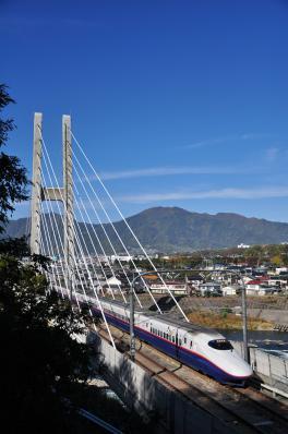 2012年11月4日 JR東日本長野新幹線 上田~佐久平 E2系N8編成
