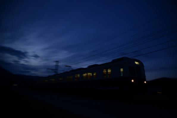 2012年12月5日 上田電鉄別所線 八木沢~舞田 7200系7253F