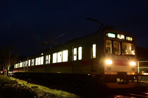 2012年12月5日 上田電鉄別所線 八木沢 1000系1004F