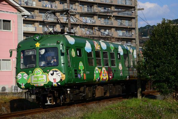 2012年12月12日 熊本電気鉄道菊池線 北熊本~坪井川公園 5000系5101A