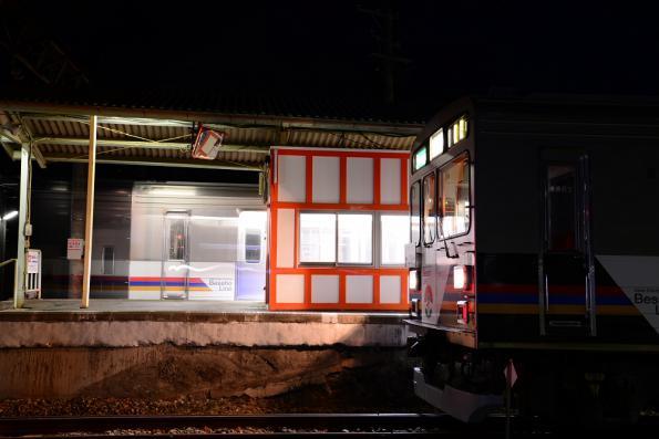 2012年12月21日 上田電鉄別所線 下之郷 1000系1002F・1003F
