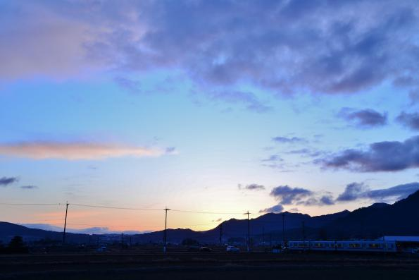 2012年12月21日 上田電鉄別所線 舞田 1000系1004F
