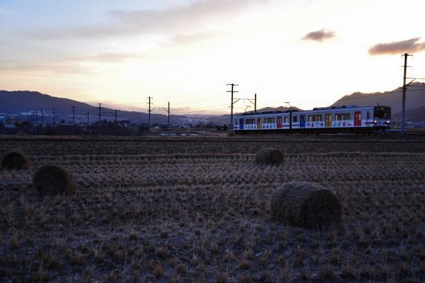 2012年12月21日 上田電鉄別所線 中野~舞田 1000系1002F